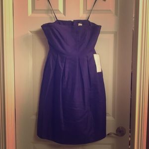 J. Crew NWT size 8 purple Special Occasions Dress